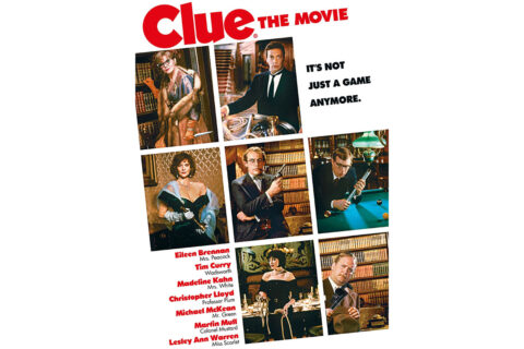 Clue plays at the Roxy Regional Theatre this Sunday.