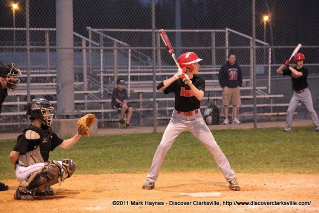 Kenwood Middle vs Rossview Middle Baseball 128