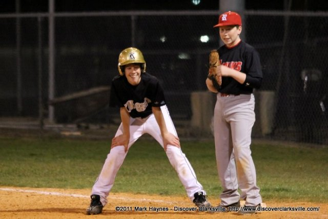 Kenwood Middle vs Rossview Middle Baseball 218